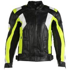 Blousons jaunes ajustable coude pour motocyclette