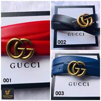 Gucci Belt Size Leather Double GG Buckle Women Authentic S Black Pearl