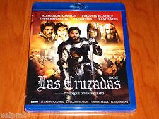 LAS CRUZADAS / CROCIATI / CRUSADERS - ESPAÑOL ENGLISH DEUTSCH Bluray Precintada