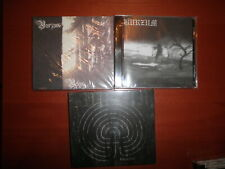 1BURZUM 3 CD lot Lotto Filosofem Belus 1Burzum/Aske Emperor Mayhem