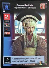 Star Wars Young Jedi CCG Jedi Council Queen Amidala, Rep Of Naboo FOIL F6
