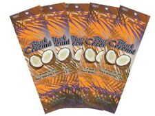 5 Black Coconut 50X Bronzer Tanning Lotion Packets by Ultimate