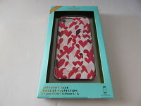 Kate Spade Hardshell Protective Case For iPhone 8/7 Hearts/Multi-Color New