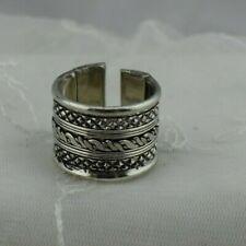 Handmade Plated Brass Ring Adjustable after size 8 Men & Women Nice