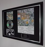 The Stone Roses Framed-Ltd Edition-Certificate Ian Brown-Oasis-liam Gallagher