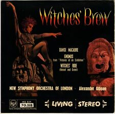 """ALEXANDER GIBSON, NEW SYMPHONY LONDON """"WITCHES' BREW"""" 50'S EP STEREO DECCA 70518"""