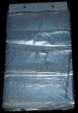 "NEW Clear Plastic Shirts Bags 10"" x 16"" With Hangable Header Card 200 pcs."