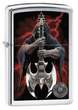 GENUINE ZIPPO LIGHTER REAPER AND AXE (99109) GIFT BOXED / AU STOCK !