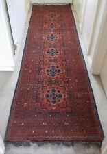 Vintage Handmade Oriental Carpet/Rug Hall Runner 82cm x 295cm