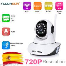 720P IP Cámara WiFi IR WLAN Vision Nocturna Vigilancia Hogar CMOS Seguridad CCTV