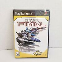 R-Type Final New Sealed Playstation 2 PS2 Fresh Games EIDOS irem