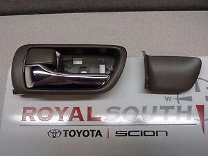 Toyota Camry 2002 - 2006 LF Interior Sandal Wood Door Handle Genuine OEM OE