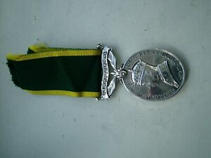 TERRITORIAL  MEDAL  ARMY CATERING CORPS FOR EFFICIENT SRVICE WW2