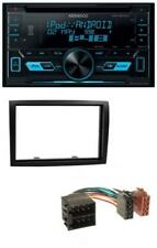 Kenwood 2din Usb Aux in mp3 CD Autoradio pour Fiat Ducato Citroen Jumper Peugeot Box
