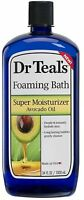 Dr Teal's Foaming Bath Super Moisturizer with Avocado Oil 34 oz (Pack of 3)