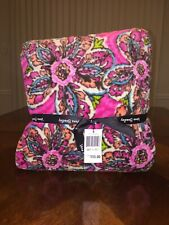 Nwt Vera Bradley Throw Blanket In Sunburst Floral