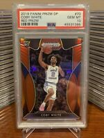 2019 Prizm Draft Picks Red Coby White Rookie RC #70, Graded PSA 10