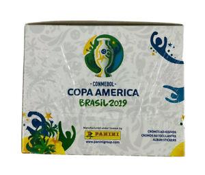 2019 Panini CONMEBOL Copa America Brasil 50 packs = 250 stickers