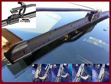 2 escobillas limpiaparabrisas flexibles coche Seat Leon desde 1999 hasta 2005