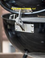LIMITED EDITION Stainless Weber KETTLE Lid Hinge Mod smoker one touch 22.5 26.75