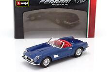 Bburago 1:24 W/B Ferrari Race & Play 250 GT California Diecast Car 18-26020 Blue