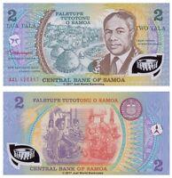Samoa 2 Tala ND (1990) P-31e Polymer Banknotes UNC