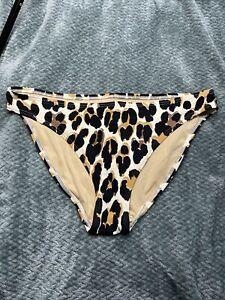 victorias secret animal print bikini bottom Large