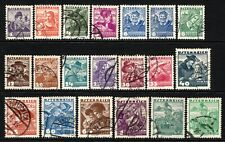 (086)     Austria 1934-38 Costumes Set to 2s Emerald SG716-35 VF Used (High Cat)