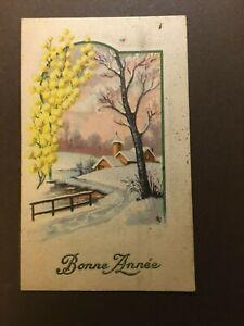 Vintage Greetings Card WW1 era.(lot381)