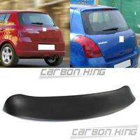 Painted Color Fit For SUZUKI Swift 2nd 5DR Rear Trunk Roof Spoiler 2010