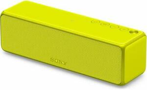 SONY H.EAR GO SPEAKER LIME YELLOW BLUETOOTH WIFI PORTABLE HI RES SRS HG1