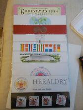 1984 Commemorative Presentation Packs Complete (8 Packs P.O. Nos 150-157)