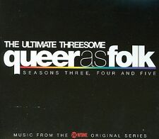 NEW Queer as Folk: The Ultimate Threesome - Seasons 3, 4, and 5 (Audio CD)