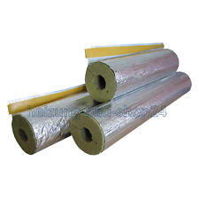 9 m Rock wool mineral Isolation Pipe insulation foil-laminated 30/60, 50% EnEV