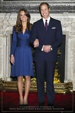 Will and Kate Royal Engagement Poster Art Print 24x36 PS33577