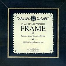 MILL HILL FRAME 6 x 6 in Fits Mill Hill Button & Bead Cross Stitch Kits BLACK