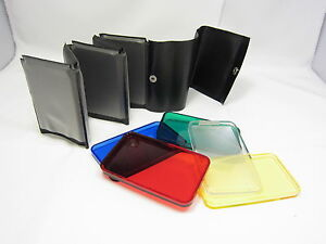 Flash Five Color Filters R.B. G.Y. Clear Diffuser With Filter Holder 6422003