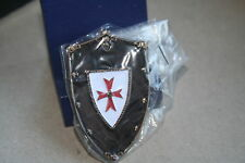 PIN Templer Kreuzritter Schild Metall NEU   145