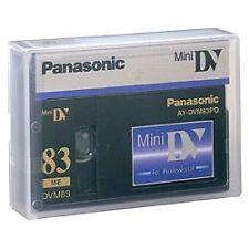 AY-DVM83PQ PANASONIC PRO MINIDV 50 PACK $10.45 PER TAPE