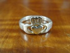 Claddagh Band Size 6 Sterling Silver 925 Ring