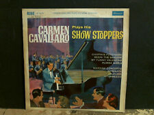 CARMEN CAVALLARO  Show Stoppers  LP  FACTORY SAMPLE DEMO  2 X I SIDED
