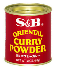 Traditional Japanese S&B Oriental Curry Powder 3 oz. (85g) Made in Japan