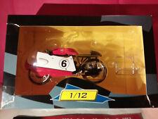 ALTAYA 1/12 MOTO GP GILERA 500~4 CYLINDRES.LIBERO LIBERATI.1957. BOITE+FASCICULE