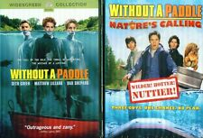 WITHOUT A PADDLE 1 & 2: Nature's Calling- Seth Green+ Mathew Lillard- NEW 2 DVD