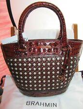 #NEWITHTAGS BRAHMIN SMALL BOWIE PECAN LIMA PURSE SHOULDER BAG purse tote