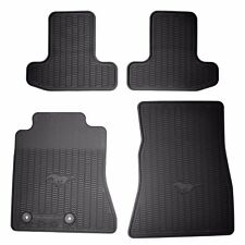 OEM 2015-2016 Ford MUSTANG ALL WEATHER Floor Mats BLK, 4PC (FR3Z-6313300-BA)