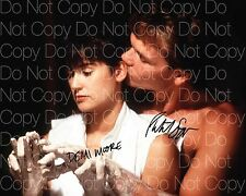 Ghost signed Patrick Swayze Demi Moore 8X10 photo picture poster autograph RP 4