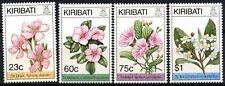 Kiribati 1994 SG#461-4 Seasonal Flowers MNH Set #D72031