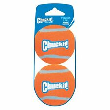Chuckit! Tennis Ball Dog Toy Shrink Sleeve Medium 2pk