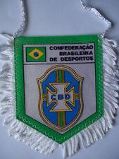 Wimpel Pennant Fussball Verband Brasilien Brasil # 8 x 10 cm